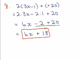 Elementary Algebra Review Part 11 preview image