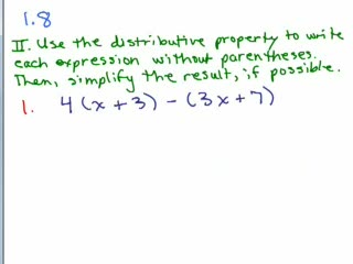 Elementary Algebra Review Part 12 preview image