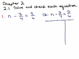 Elementary Algebra Review Part 13 preview image