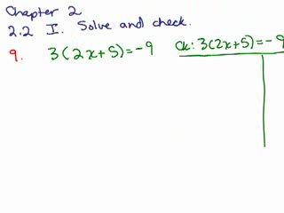 Elementary Algebra Review Part 18 preview image