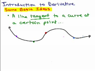 Derivatives and Tangent Lines 1 preview image