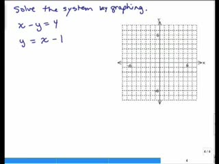 Solving Systems of Equations by Graphing pt 2 preview image