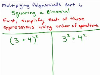 Multiplying Polynomials 6 preview image